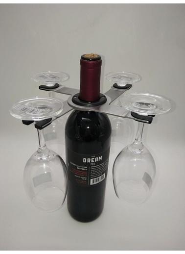 Doppler Şişeler için Bardak Tutacağı Şık Pratik Orjinal-Wine Glass Holder Renkli